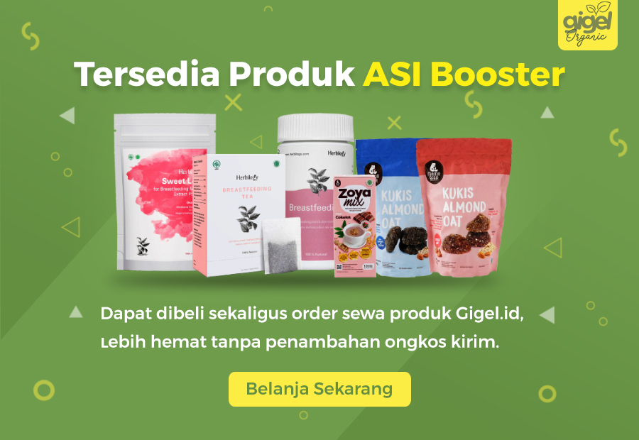 Produk ASI Booster - Gigel Organic