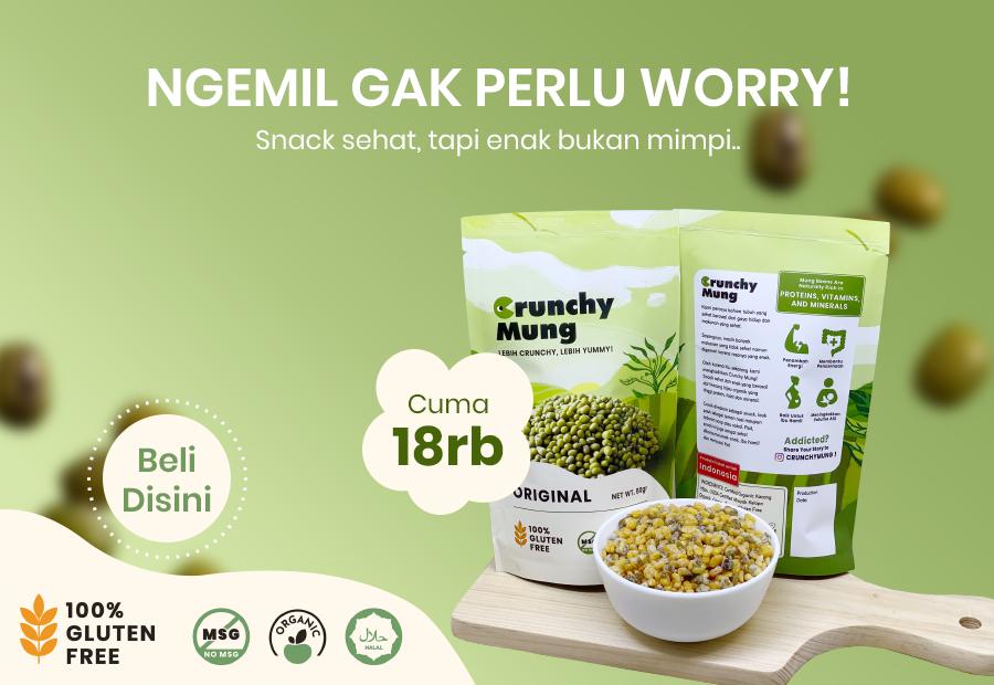 Crunchy Mung Gigel Organic