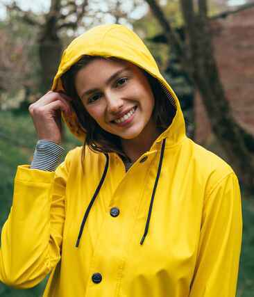 Petit Bateau - Women Iconic Raincoat - Yellow