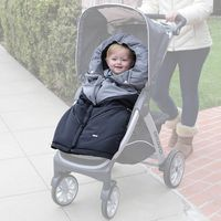 Chicco Universal Baby Stroller Sleeping Bag Footmuff - Black