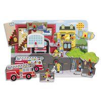 Melissa & Doug - Around the Fire Station Sound Puzzle