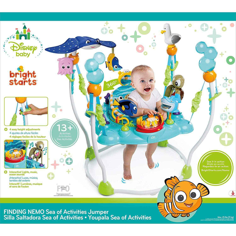Disney Baby FINDING NEMO Sea of Activities Jumper GIGEL-3