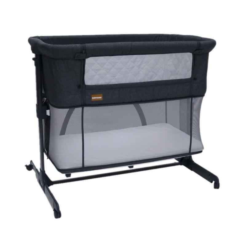 Babydoes 3 in 1 Side Bed Baby Box - Dark Grey