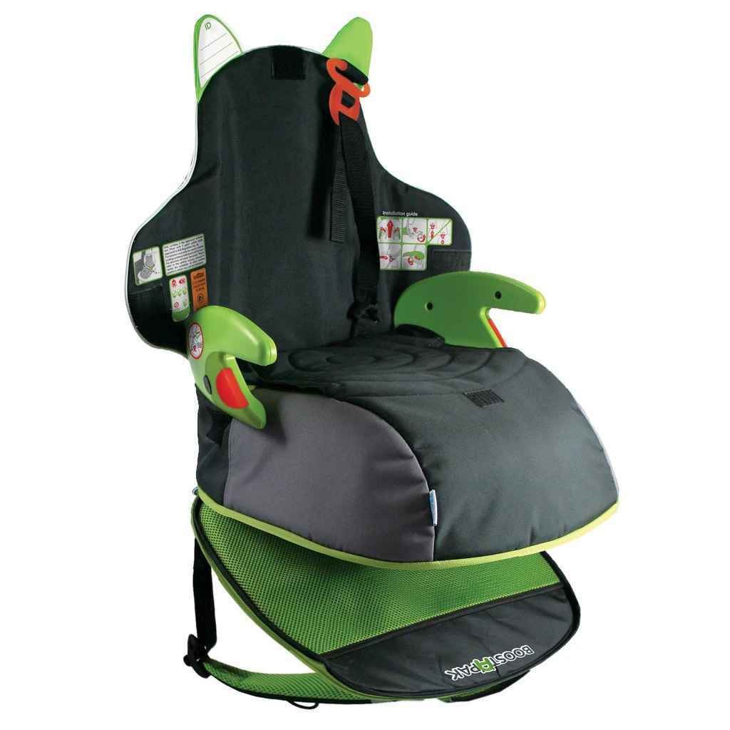 Trunki BoostApak Car Seat - Green