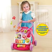 VTech Sit to Stand Learning Walker - Pink