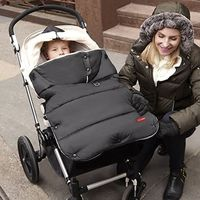 Skip Hop Stroll and Go Three Season Stroller Footmuff, Size: Toddler - Black