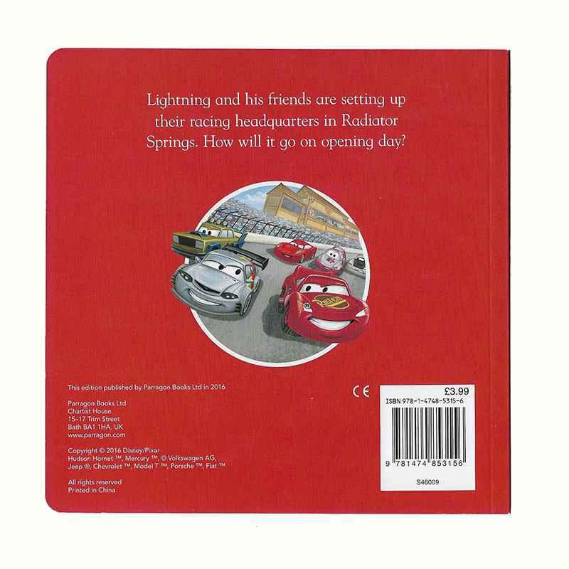 Book: DISNEY - CARS - RACING DAYS IN RADIATOR SPRINGS gigel-2