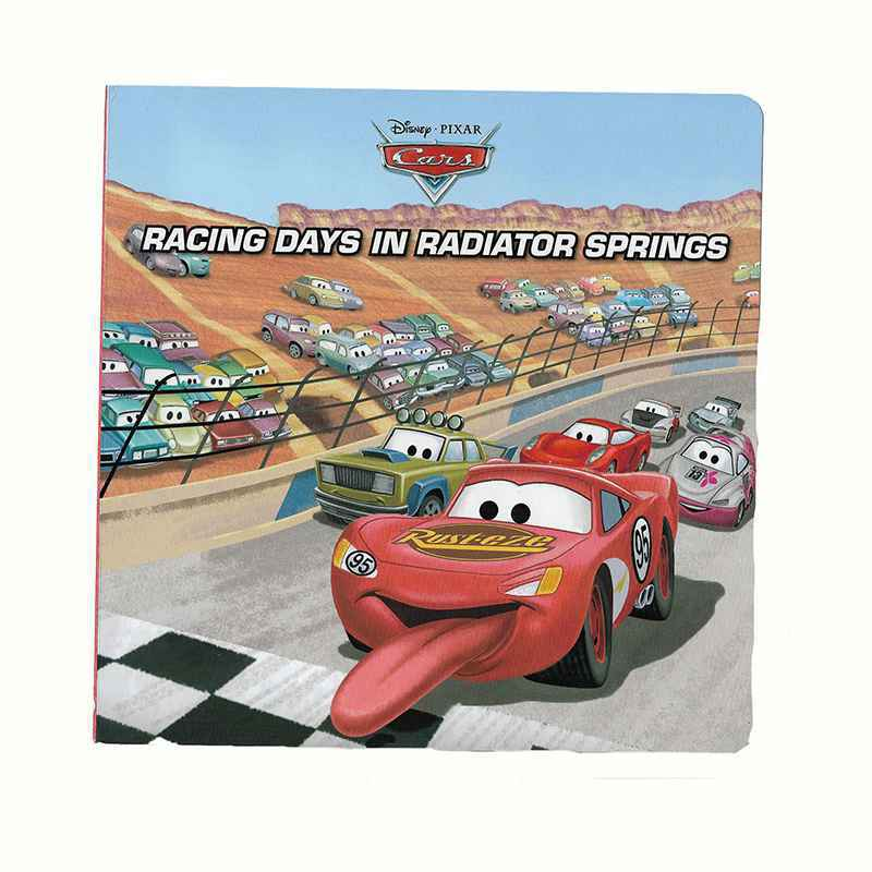 Book: DISNEY - CARS - RACING DAYS IN RADIATOR SPRINGS GIGEL.ID-1