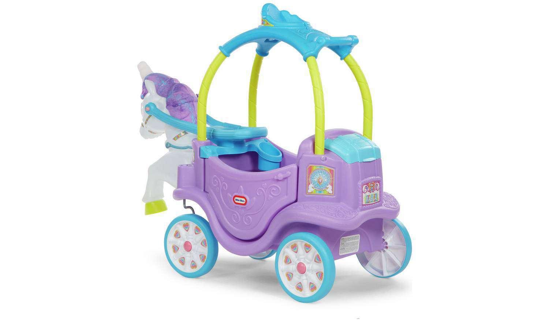 sewa little tikes magical unicorn carriage termurah dengan