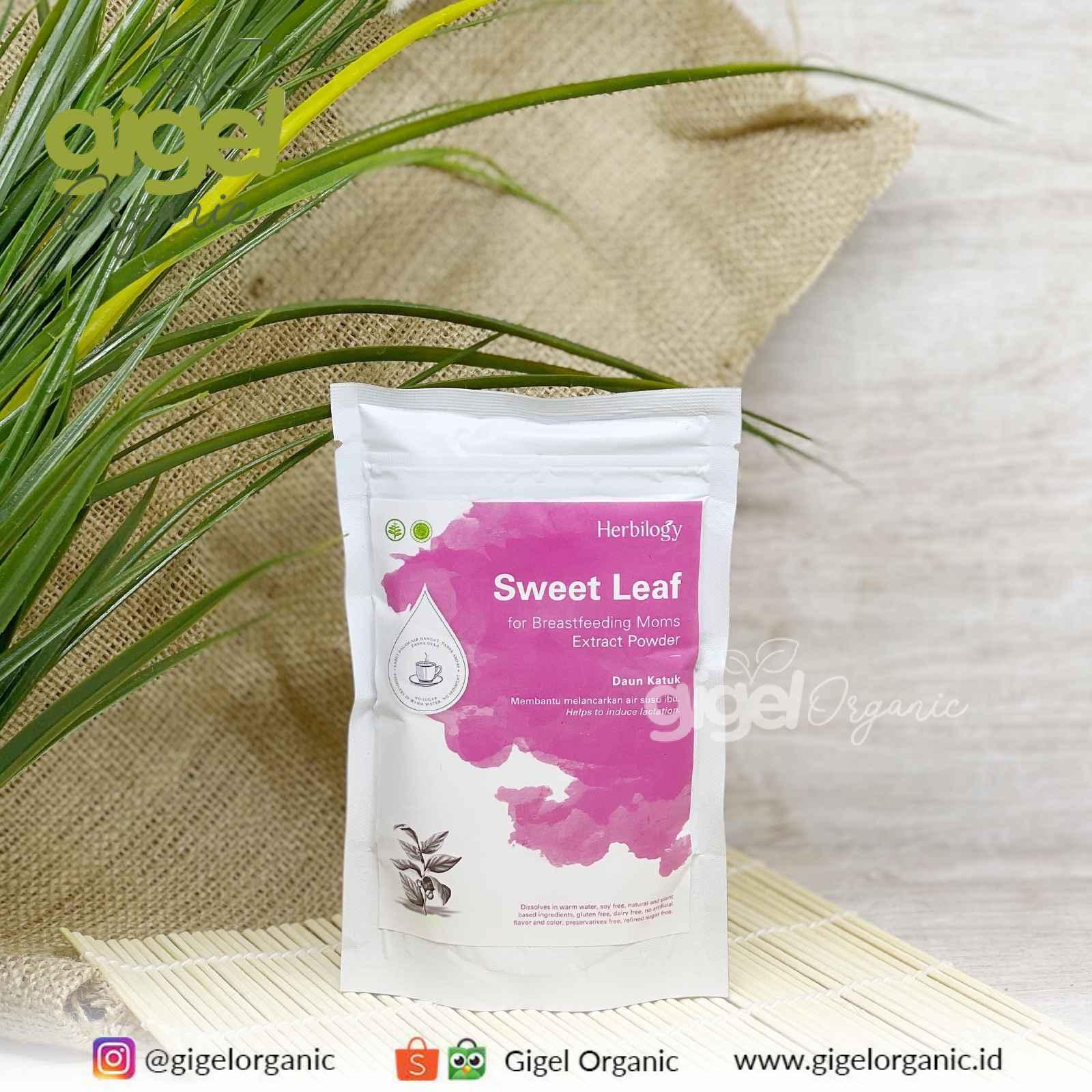 Herbilogy Daun Katuk Extract Powder Gigel Organic