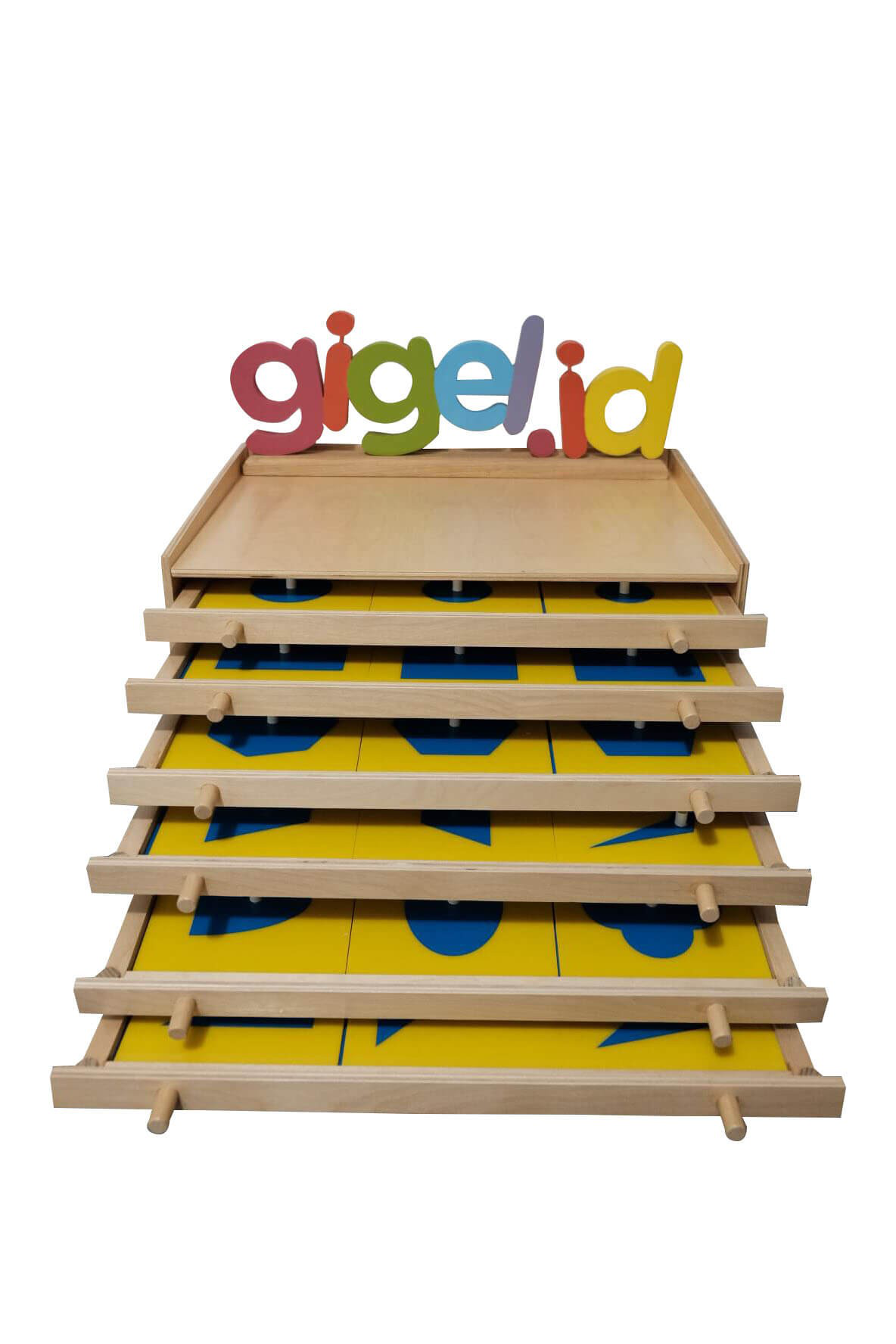 Montessori - Geometric Cabinet