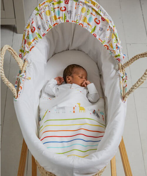 Mothercare Hello Friend Moses Basket