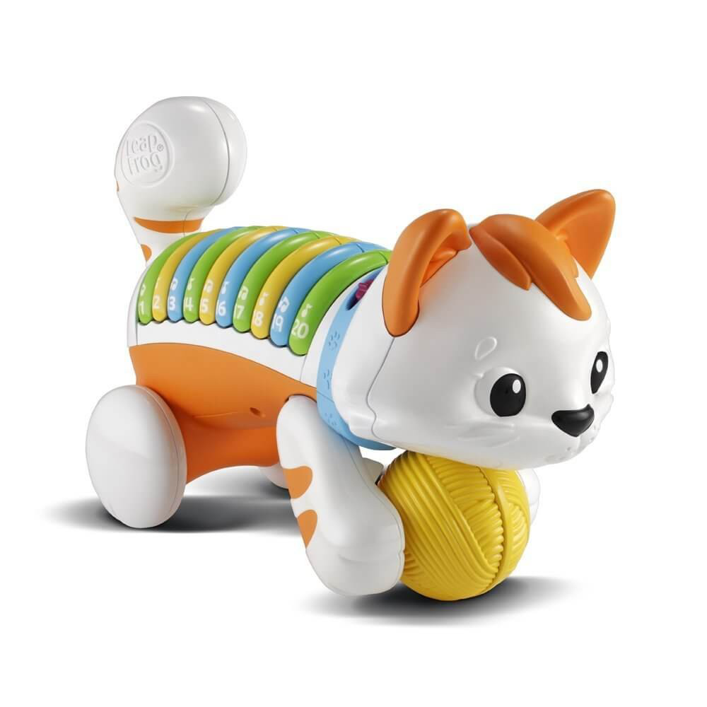 Leap Frog Count & Crawl Kitty White