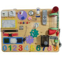 Busy Board - 8 - (2 sisi) - 60 x 45 cm - B