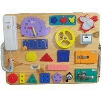 Busy Board - 7 - (2 sisi) - 60 x 45 cm - A