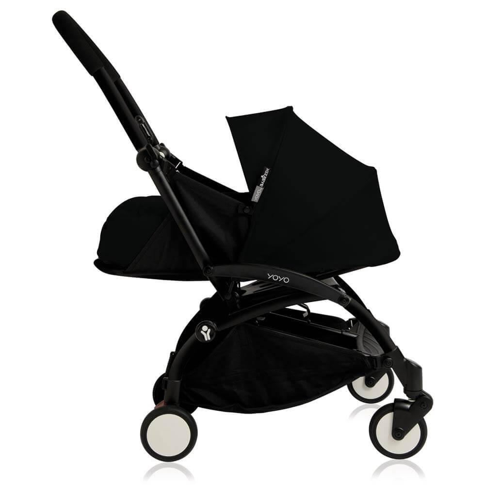 New Babyzen Yoyo+ 0+ Newborn Pack - Black Frame: Black (termasuk rangka stroller)