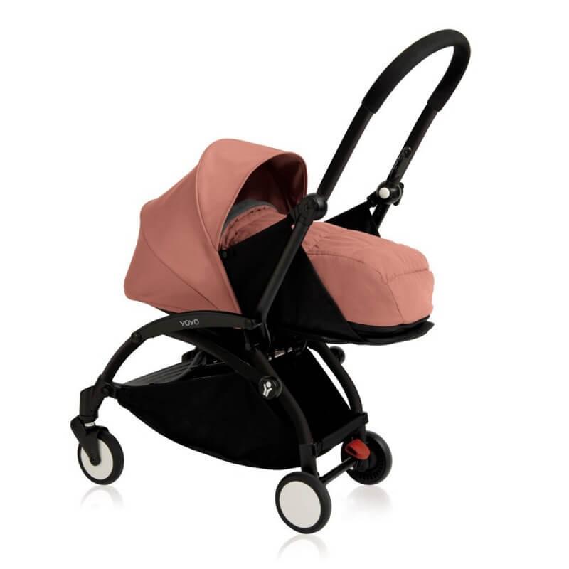 New Babyzen Yoyo+ 0+ Newborn Pack - Ginger Frame: Black (termasuk rangka stroller)