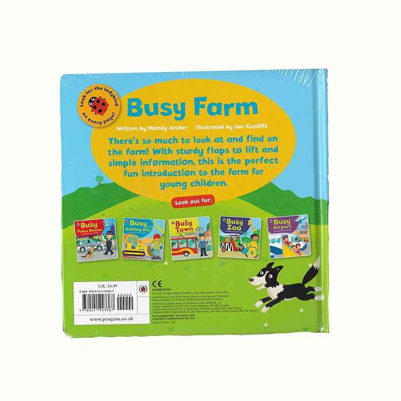 BUSY FARM - A LADYBIRD LIFT THE FLAP BOOK GIGEL.ID - 2
