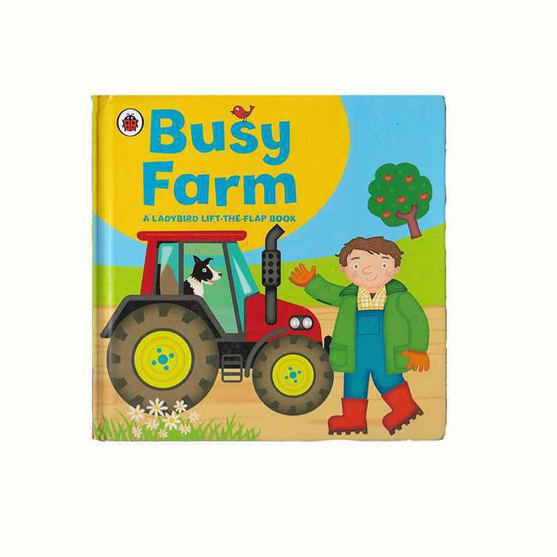 BUSY FARM - A LADYBIRD LIFT THE FLAP BOOK GIGEL.ID - 1