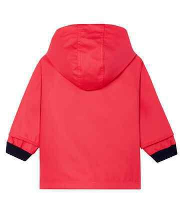 Petit Bateau - Kids Iconic Raincoat - Red (3 Years Old)