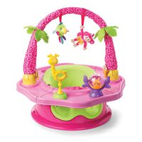 Summer Infant Island Giggles Deluxe Super Seat - Pink