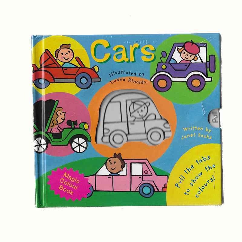 CARS - Magic Colour Book GIGEL-1