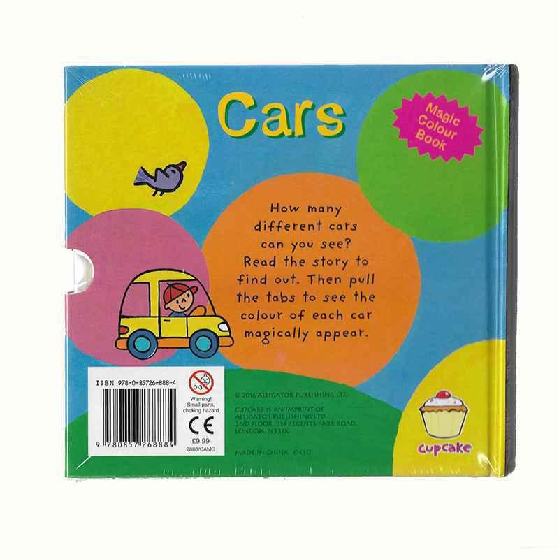 Book: CARS - Magic Colour Book GIGEL-2