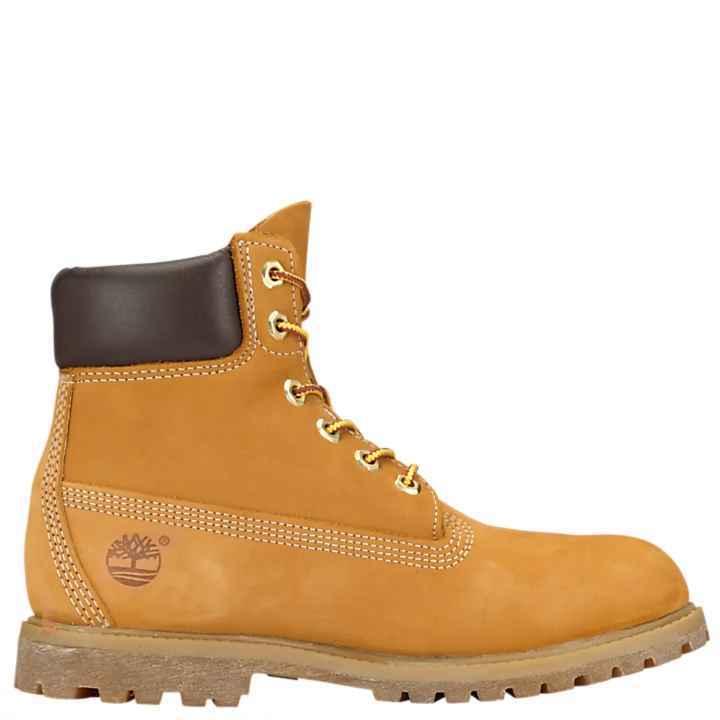 Timberland Women's 6-Inch Premium Waterproof Boots - size 7.5 - Wheat Nubuck