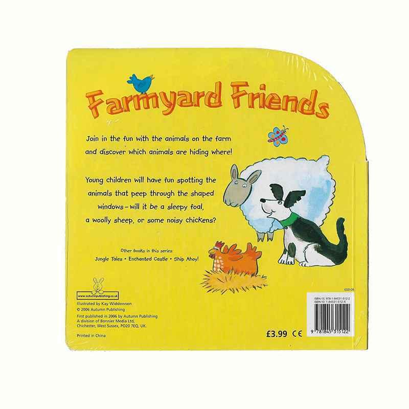BYEWAY BOOKS - Farmyard Friends GIGEL.ID-2