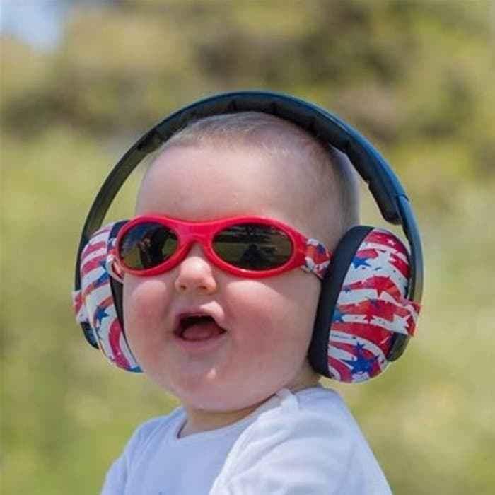 Baby Banz Mini Earmuff - US Flags