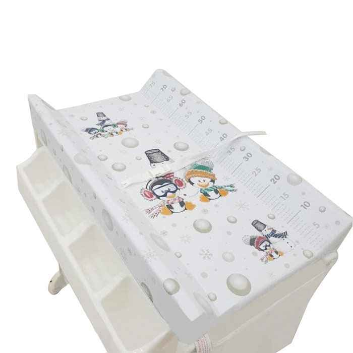 Pliko Baby Tafel Changing Table - Pinguin and Snowman