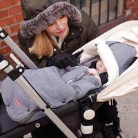 Skip Hop Stroll and Go Three Season Stroller Footmuff, Size: Toddler - Heather Grey