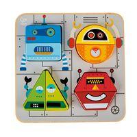 Hape Robot Sort & Stand Up Puzzle