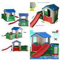 Tobebe Playhouse + Slide