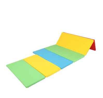 Foldaway Bumper Grand Mat - Rainbow