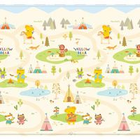 Coby Haus Coby Mat PVC Playmat - Yellow Bear Indian Village - XL