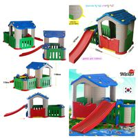 Tobebe Playhouse + Slide