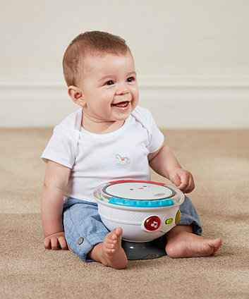 ELC Little Senses Tap & Twist Drum