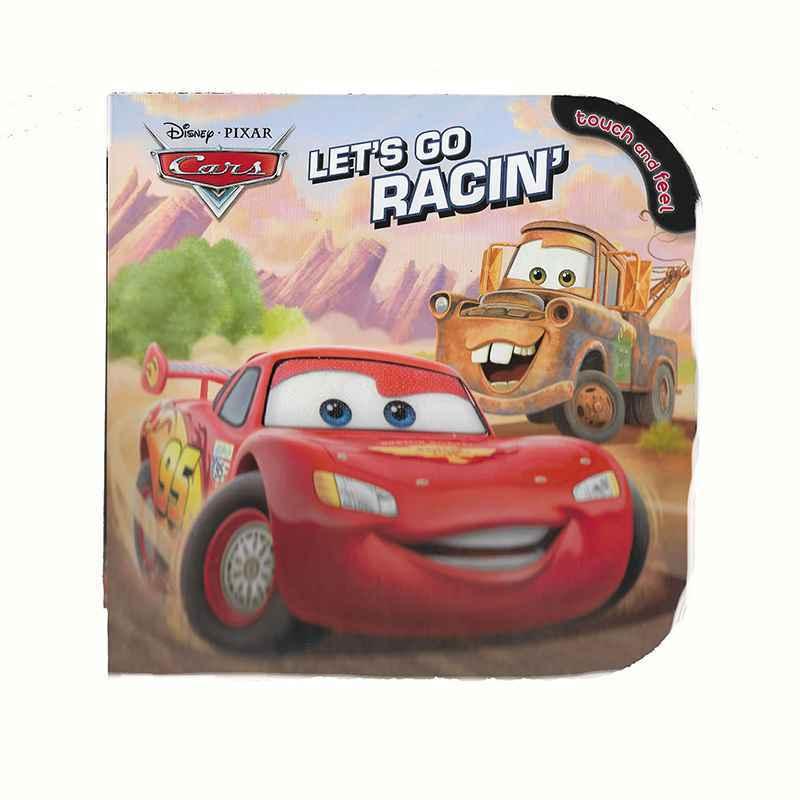 DISNEY - CARS - LET'S GO RACIN' - TOUCH AND FEEL GIGEL.ID-1