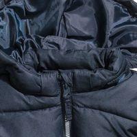 H&M Padded Jacket with Hood - Dark Blue (12-18 months)