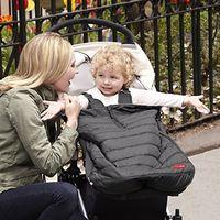 Skip Hop Stroll and Go Three Season Stroller Footmuff, Size: Infant - Black