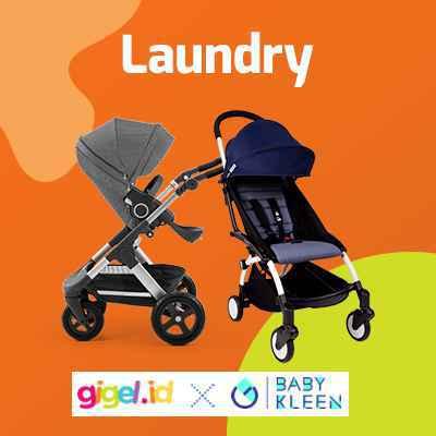 Laundry Stroller - GIGEL X Baby Kleen - 1