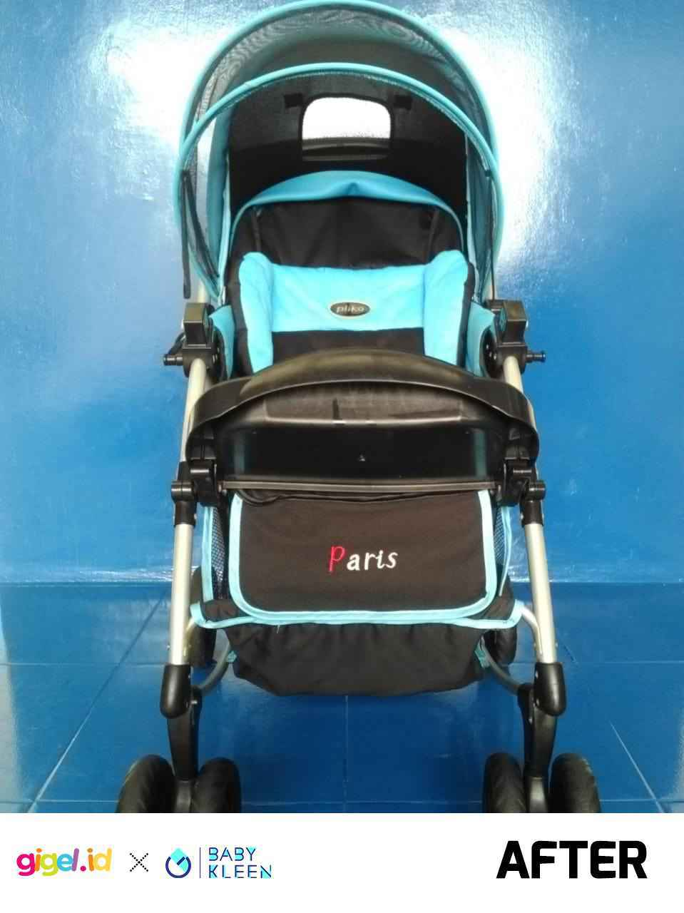 GIGEL.ID x Baby Kleen Laundry Stroller - 4