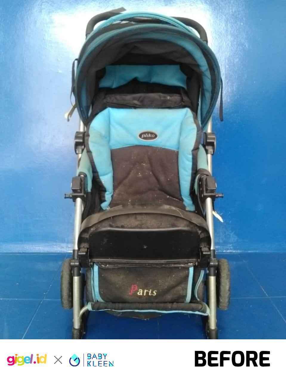 GIGEL.ID x Baby Kleen Laundry Stroller - 3