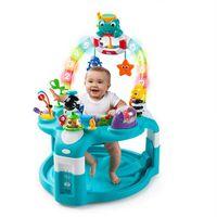Baby Einstein 2-in-1 Lights & Sea Activity Gym & Saucer