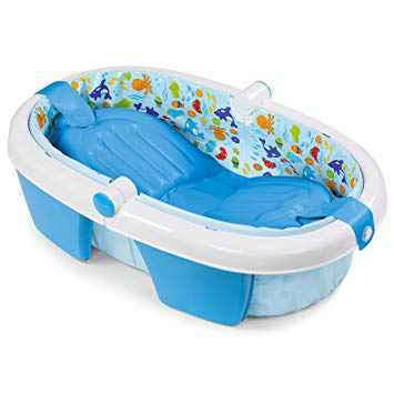 Summer Infant Foldaway Baby Bath - White