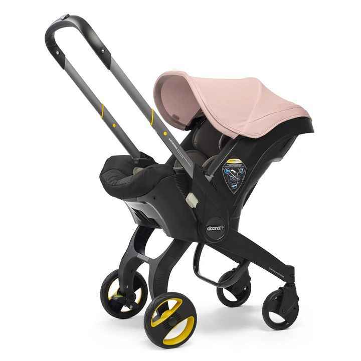 Doona Infant Car Seat And Stroller - Blush Pink (Non ISOFIX)