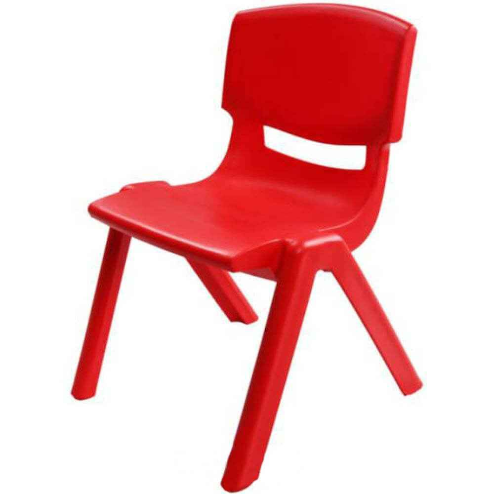 Paso Plastic Chair - Red - gigel - 1