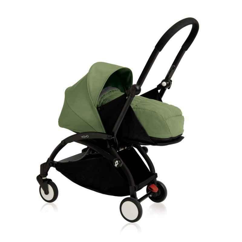 New Babyzen Yoyo+ 0+ Newborn Pack - Peppermint - Frame:Black (termasuk rangka stroller)