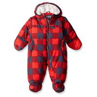 Osh Kosh Baby Boy Pram Suit - Grey Red (18 bulan)